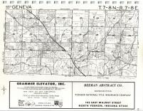Map Image 010, Jennings County 1972